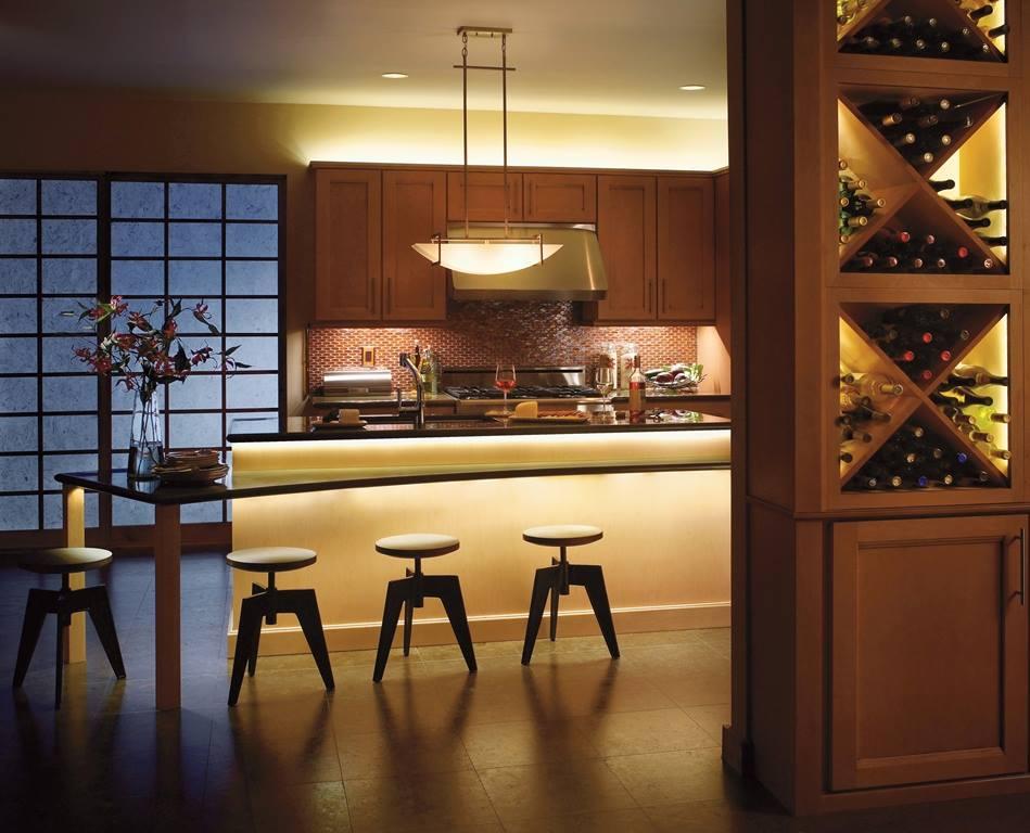 led under cabinet fixtures by kichler kitchen counter lighting i